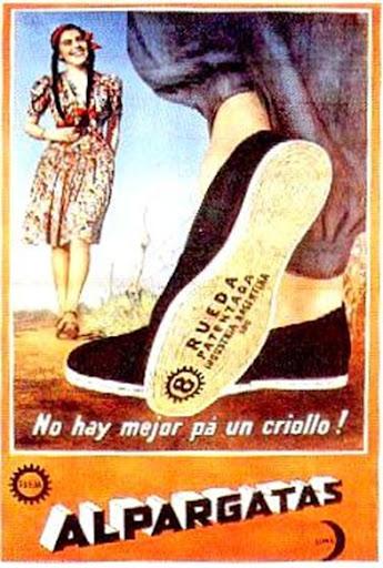 Publicidad Aguila 1967 Publicidad Alpargatas 1967