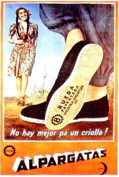 Publicidad Alpargatas 1967