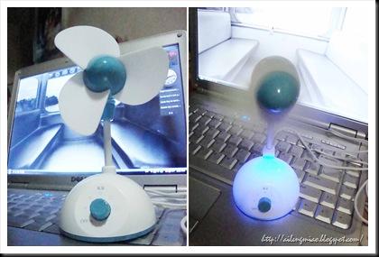USB Fan Comb