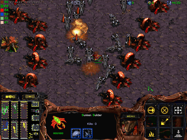 Download StarCraft Map: Sunken D Virus