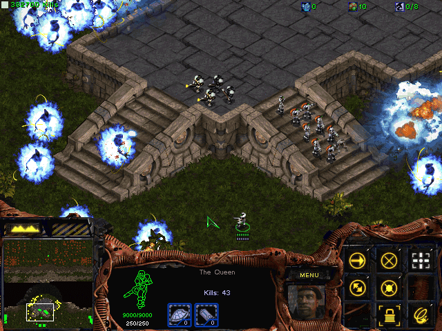 Download StarCraft Map: Protect the Queen