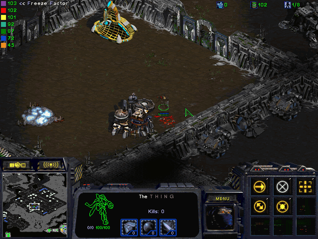 Download StarCraft Map: The Thing