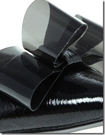 Lauren Perspex Bow Pumps1