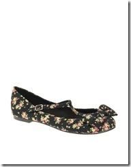 Leora Floral Bow T
