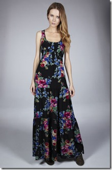 Chintz Floral Maxi Dress