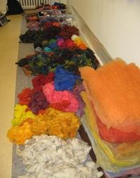 Material farbig