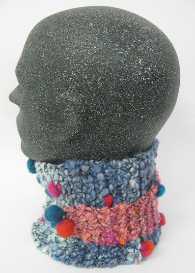 A- Schal Kragen Stirnband 4