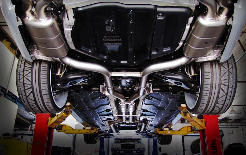 Akrapovic c63 titanium exhaust w sound for Mercedes benz c300 exhaust