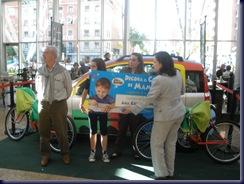 ENTREGA DELPREMIO. Todo un Fiat Panda a la Ganadora del Concurso ANA CORTÉS GARCÍA. ¡ENHORABUENA!