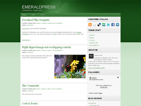 Emeraldpress Theme