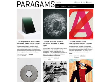 Paragrams Theme