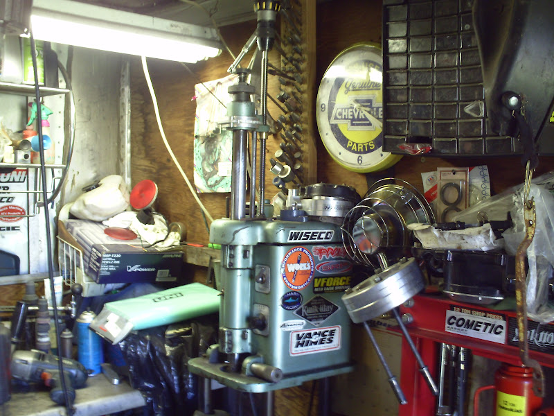 outboard cylinder boring machine suggestions