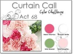 curtain call 68 carnations at evetagious.blogspot