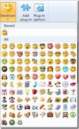 emoticons WLW