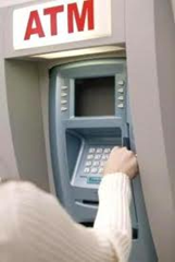 Axis Bank atm center in Hyderabad.