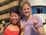 Huang Zhenyan (Jenny) and Missy Peace