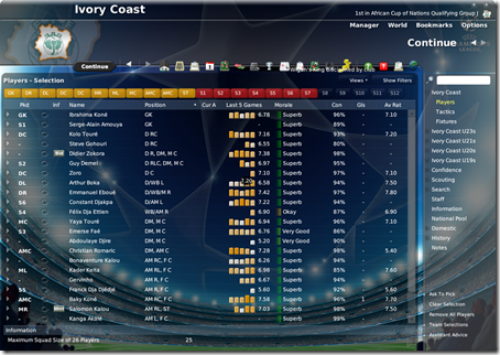 cl2009 Football Manager 2009 skin