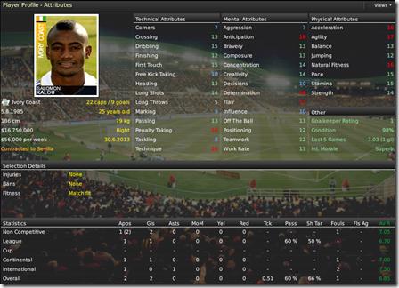 Dark Horizon Football Manager 09 skin