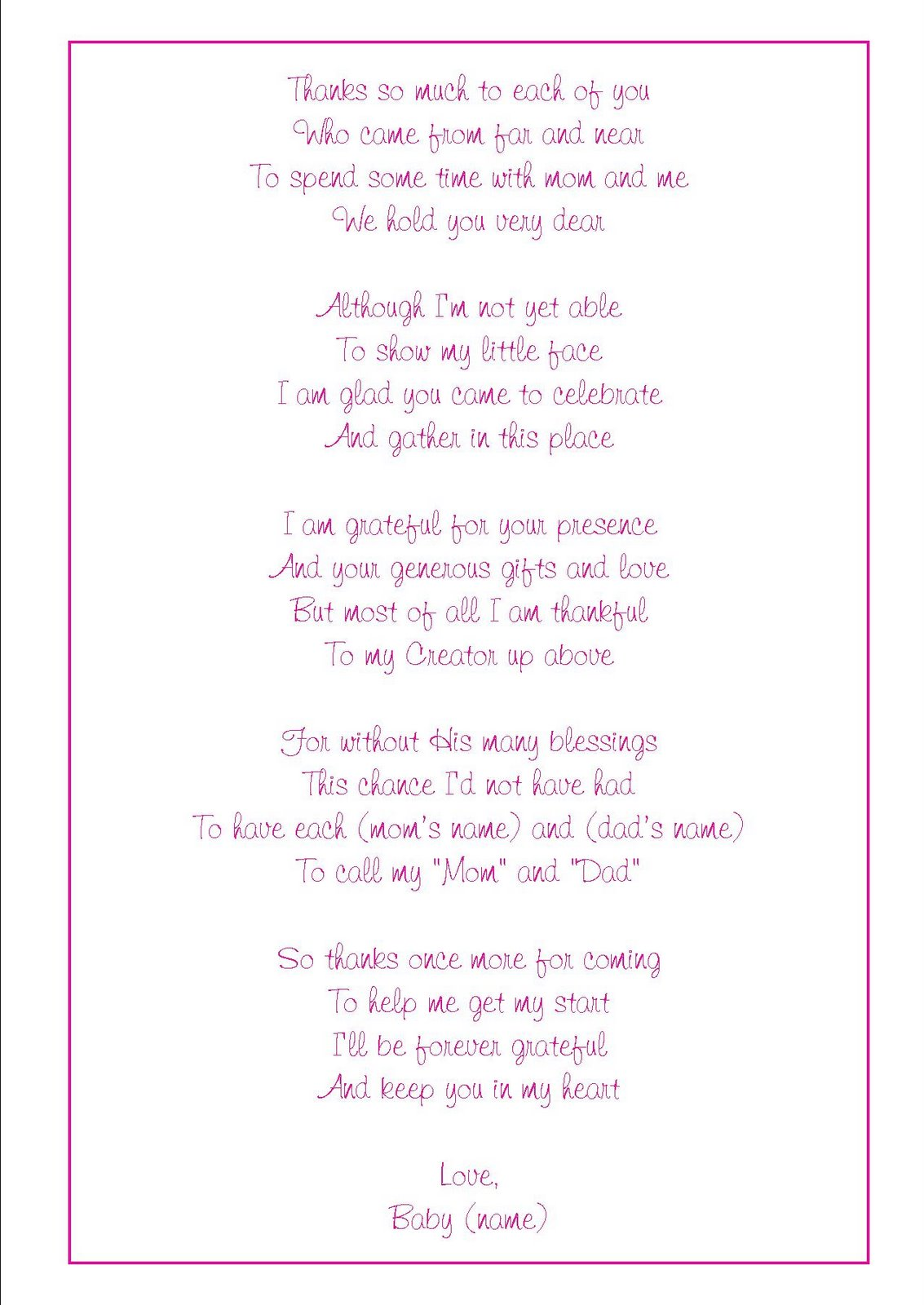 related posts baby shower thank you quotes bridal shower quotes baby