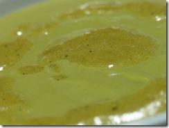 Crema de Brocoli y Parmesano