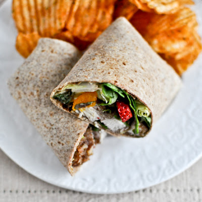 Pecan Crusted Chicken Wraps