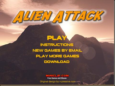 aliens atak