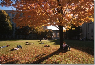 BU Fall Photo
