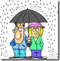 couple in the rain clip art