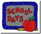 blue back to school clip art