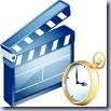 Movie Clicker and Clock Clip Art