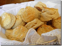 Basket of scones