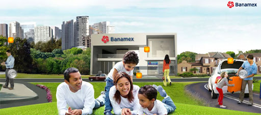 Banamex - Inspiring cityscape in web design example