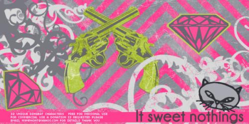 LT Sweet Nothings Dingbat Font