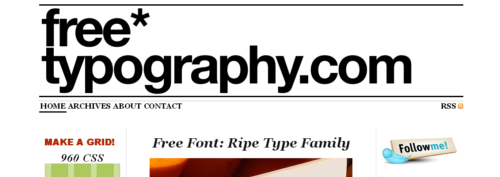 FreeTypography.com