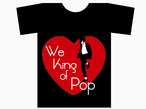 We Love The King of Pop T-Shirt