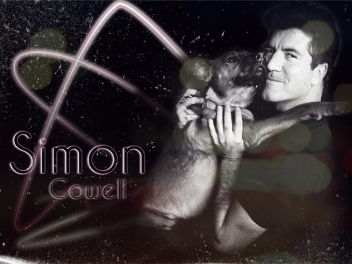 Simon Cowell - Black and White