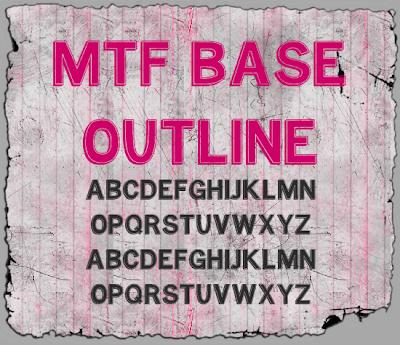 MTF Base Outline Font