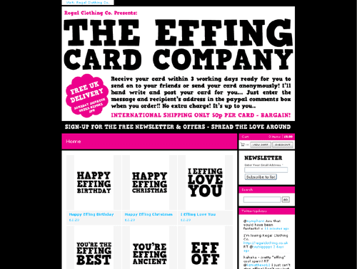 The Effing Card Company