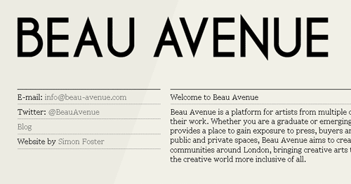 Beau Avenue