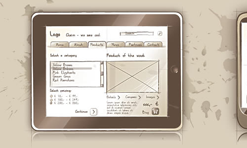 Sqetch - Illustrator Wireframe Toolkit