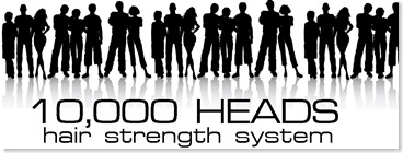10,000 heads logo334