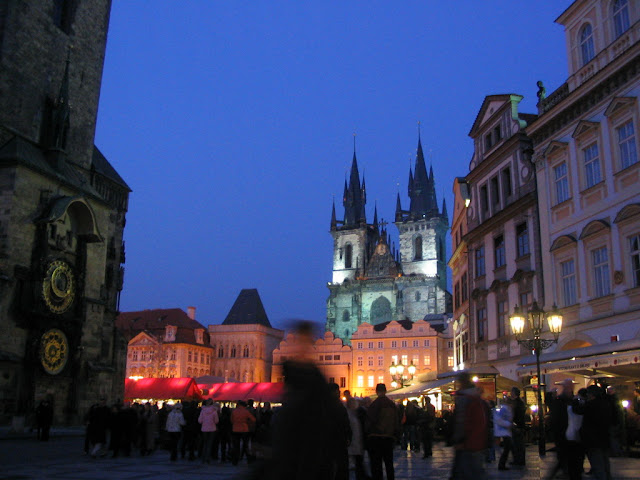 Old Town Square at disk, Prague