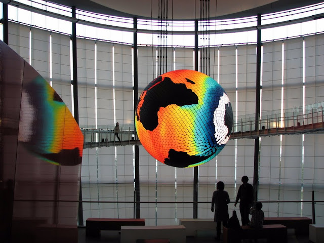 Geo-Cosmos at the Miraikan