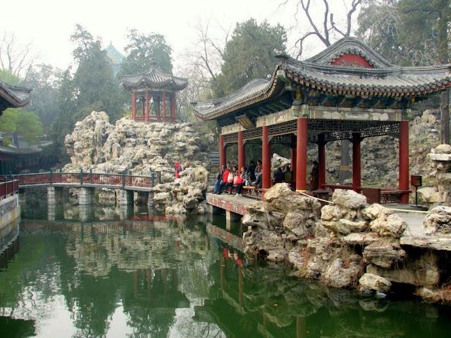 Garden in Bei Hai Park