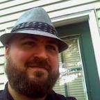 J.E. Ignatius McNeill in a hat