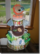 Diaper Cake made by Moi!