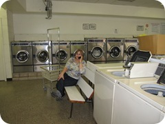 The Navigator in the laundromat