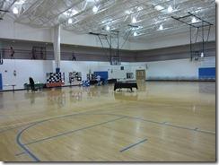 Gym prior to setup