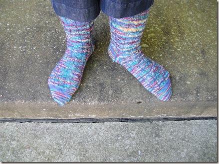 KAL August Summer Socks 002