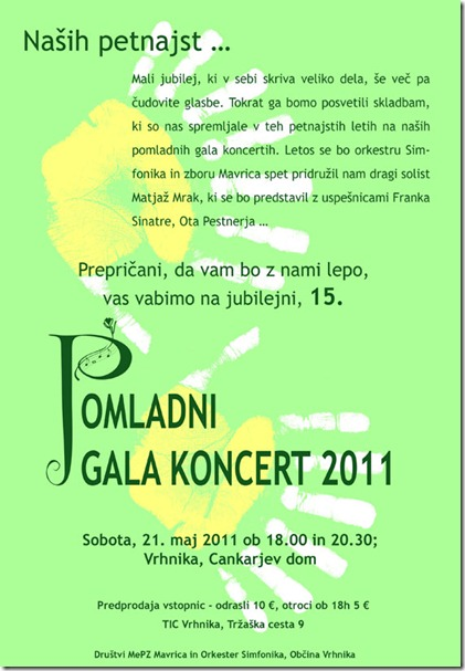 Pomladni 2011 - oglas NC